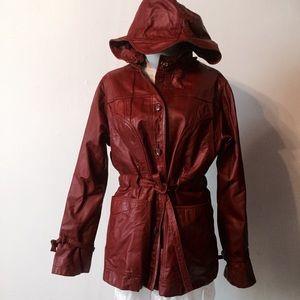 Jackets & Blazers - Lightweight Brown Vintage Leather Jacket 70's